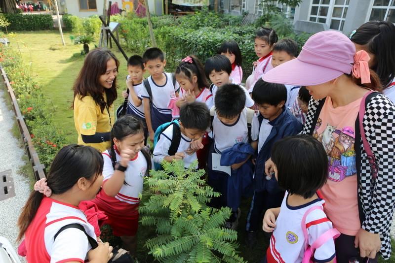 環境教育戶外學習團的賞蝶體驗活動